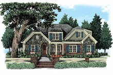 House Plan Design - European Exterior - Front Elevation Plan #927-360