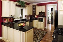 Traditional Interior - Kitchen Plan #929-605