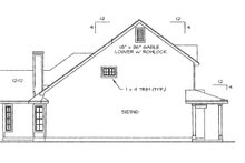 House Plan Design - Country Exterior - Other Elevation Plan #472-155