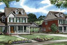 House Plan Design - Country Exterior - Front Elevation Plan #17-2904
