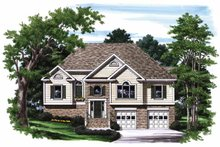 House Plan Design - Traditional Exterior - Front Elevation Plan #927-702