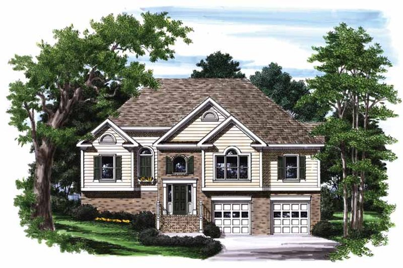Traditional Exterior - Front Elevation Plan #927-702