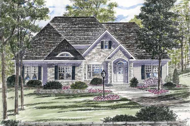 Home Plan - Ranch Exterior - Front Elevation Plan #316-269