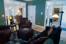 House Plan Design - Classical Interior - Family Room Plan #17-2665