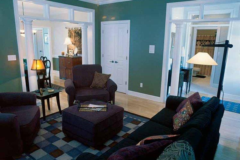 Classical Interior - Family Room Plan #17-2665 - Houseplans.com