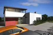Modern Style House Plan - 4 Beds 3.5 Baths 2845 Sq/Ft Plan #520-2 Exterior - Front Elevation