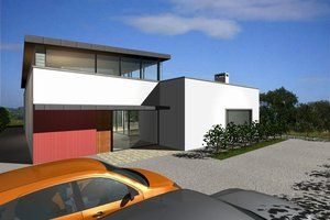 Exclusive Modern style Home designed by Frank McGahon