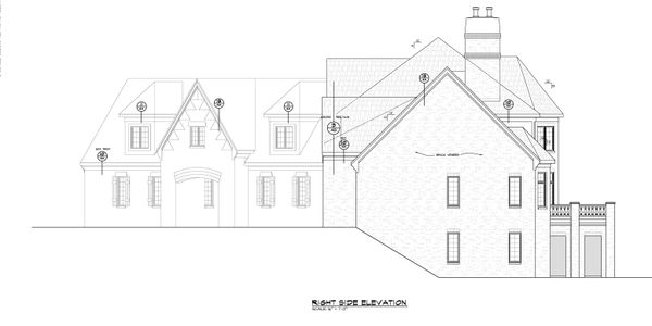 House Plan Design - European Floor Plan - Other Floor Plan #20-2379