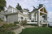 Craftsman Exterior - Rear Elevation Plan #132-485