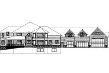 Dream House Plan - Craftsman Exterior - Front Elevation Plan #117-684