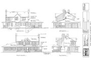 Country Style House Plan - 4 Beds 2.5 Baths 2094 Sq/Ft Plan #47-215 Exterior - Rear Elevation