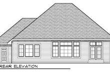 Dream House Plan - European Exterior - Rear Elevation Plan #70-706