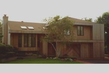 Dream House Plan - Modern Exterior - Front Elevation Plan #3-164