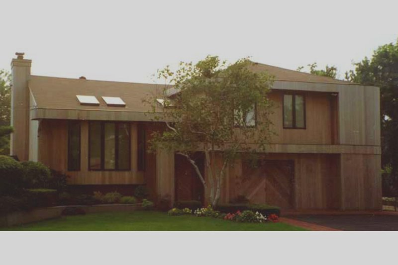 Modern Exterior - Front Elevation Plan #3-164