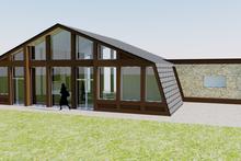 Contemporary Exterior - Rear Elevation Plan #542-2