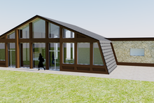 Contemporary Exterior - Rear Elevation Plan #542-2