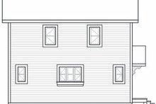 Contemporary Exterior - Rear Elevation Plan #23-755