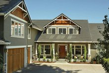 Craftsman Exterior - Front Elevation Plan #48-148