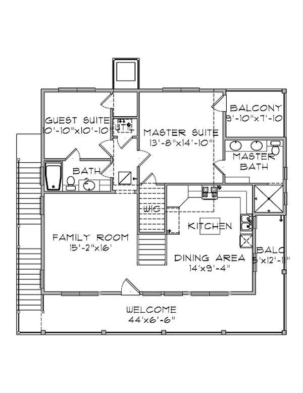 Floor Plan - Main Floor Plan Plan #575-5