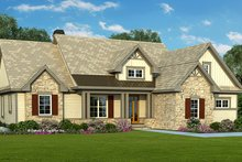 Craftsman Exterior - Front Elevation Plan #929-936