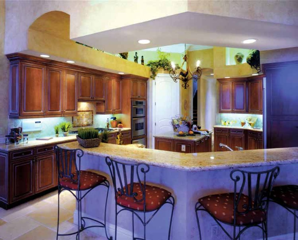 pics of small kitchen designs mediterranean style house plan 3 beds 4 baths 4000 sq ft 7434