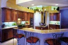 Home Plan - Mediterranean Interior - Kitchen Plan #1017-3
