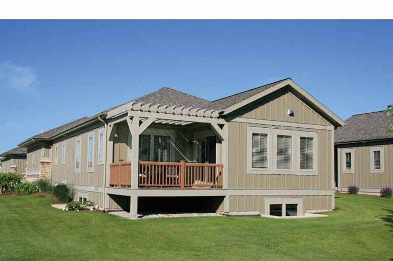 Craftsman Exterior - Rear Elevation Plan #928-193 - Houseplans.com