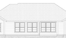 Traditional Exterior - Rear Elevation Plan #513-2156