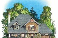Dream House Plan - Victorian Exterior - Front Elevation Plan #1016-78