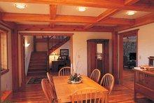 Dream House Plan - Craftsman Interior - Dining Room Plan #1016-45