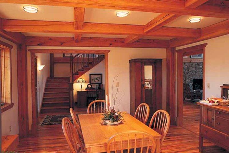 Craftsman Interior - Dining Room Plan #1016-45 - Houseplans.com
