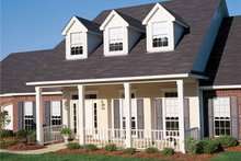 Architectural House Design - Country Exterior - Front Elevation Plan #406-9626