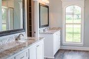European Style House Plan - 3 Beds 2 Baths 1715 Sq/Ft Plan #430-84 Interior - Master Bathroom