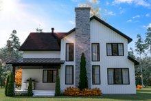 House Design - Farmhouse Exterior - Rear Elevation Plan #23-2725