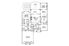 European Floor Plan - Main Floor Plan Plan #929-922