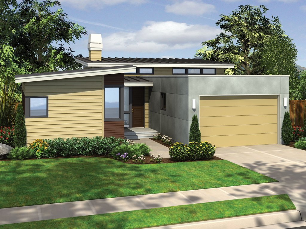 Modern Style House Plan - 3 Beds 2 Baths 1719 Sq/Ft Plan #48-559 on abstract home plans, classical home plans, retro home plans, industrial home plans, comfortable home plans, alternative home plans, classic home plans, fun home plans, stylish home plans, office home plans, contemporary country home plans, urban home plans, modernistic home plans, antique home plans, spacious home plans, arts and crafts home plans, minimalist home plans, rock home plans, mid-century modern home plans, functional home plans,