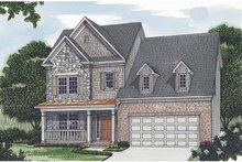 Traditional Exterior - Front Elevation Plan #453-504