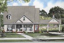 Craftsman Exterior - Front Elevation Plan #17-2864