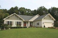 Architectural House Design - Craftsman Exterior - Front Elevation Plan #928-126