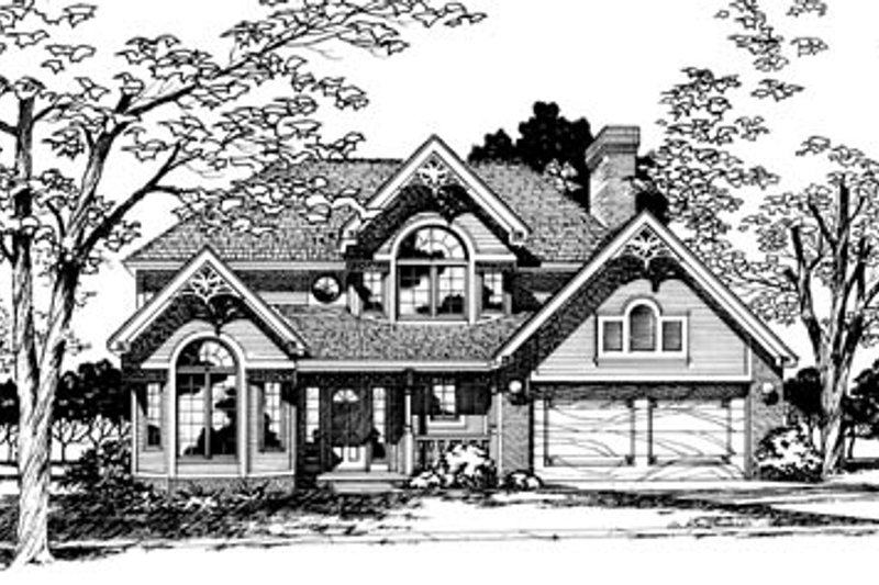 Home Plan - Traditional Exterior - Front Elevation Plan #20-276