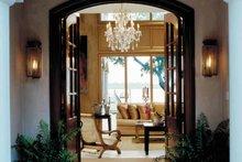 Mediterranean Interior - Family Room Plan #930-283