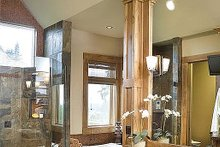 Dream House Plan - Master Bathroom - 5100 Square foot Craftsman home