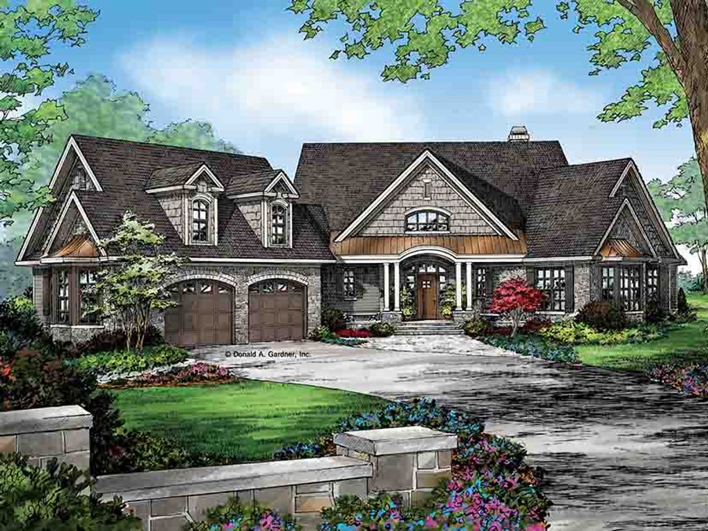 European style house plan 4 beds 3 baths 2950 sq ft plan for European style house floor plans