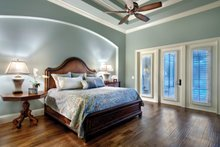 Mediterranean Interior - Master Bedroom Plan #930-446