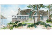 Traditional Style House Plan - 4 Beds 3 Baths 3614 Sq/Ft Plan #928-44 Exterior - Front Elevation