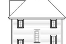 Dream House Plan - European Exterior - Rear Elevation Plan #23-848