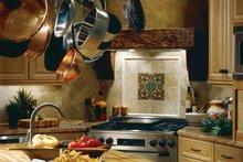 Mediterranean Interior - Kitchen Plan #930-97