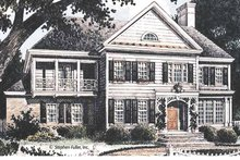 Home Plan Design - Country Exterior - Front Elevation Plan #429-362