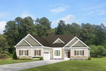 Home Plan - Ranch Exterior - Front Elevation Plan #1010-81