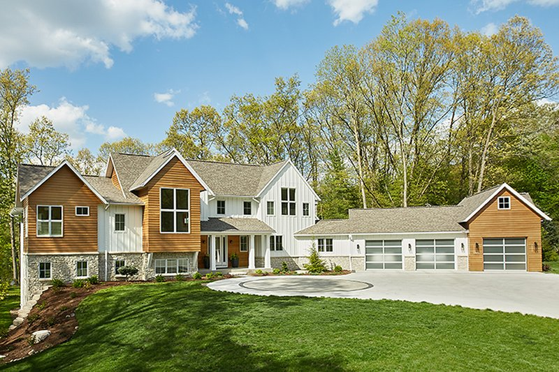 Dream House Plan - Farmhouse Exterior - Front Elevation Plan #928-308